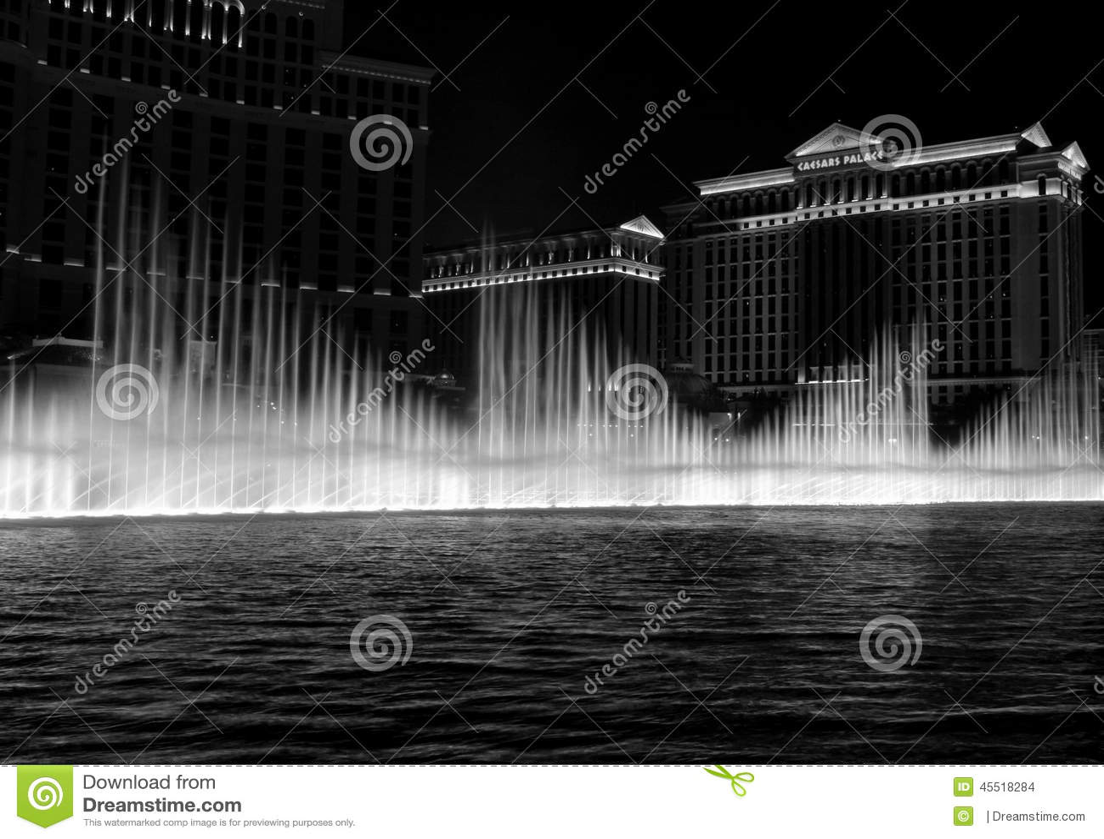 Bellagio fontanna w Las Vegas