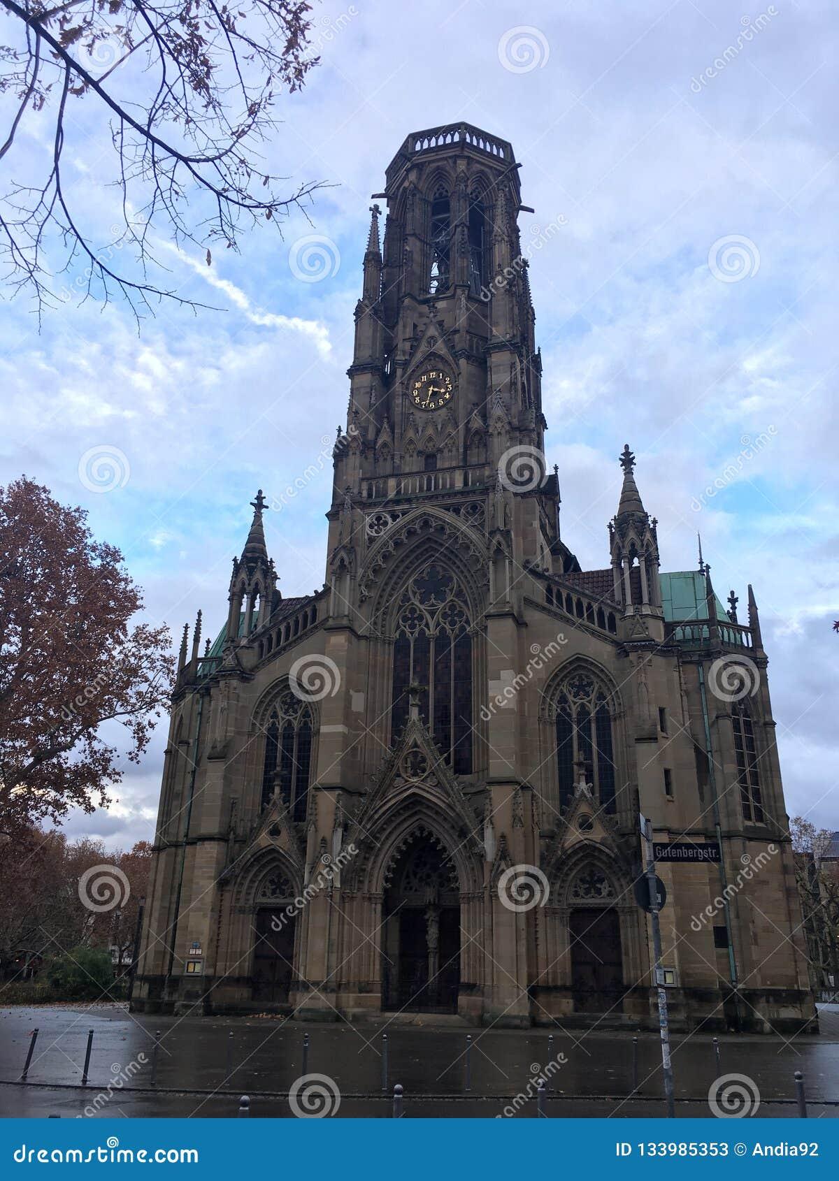 Belle église,