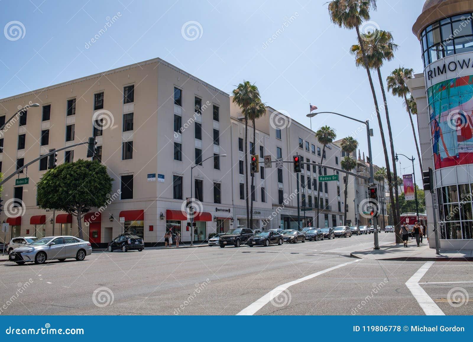 Belle Beverly Hills, la Californie un jour d été