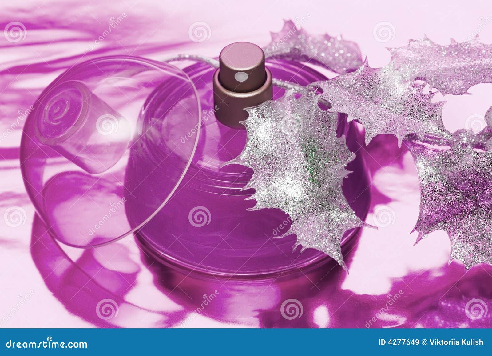 Belle bouteille de parfum