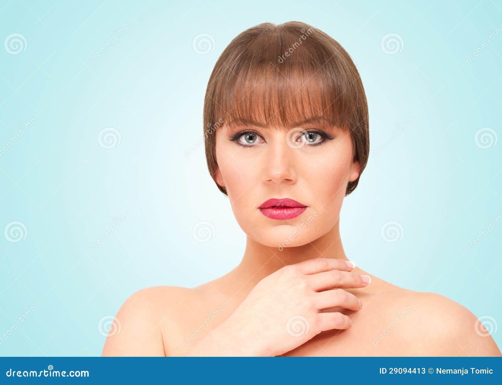 Belle brune
