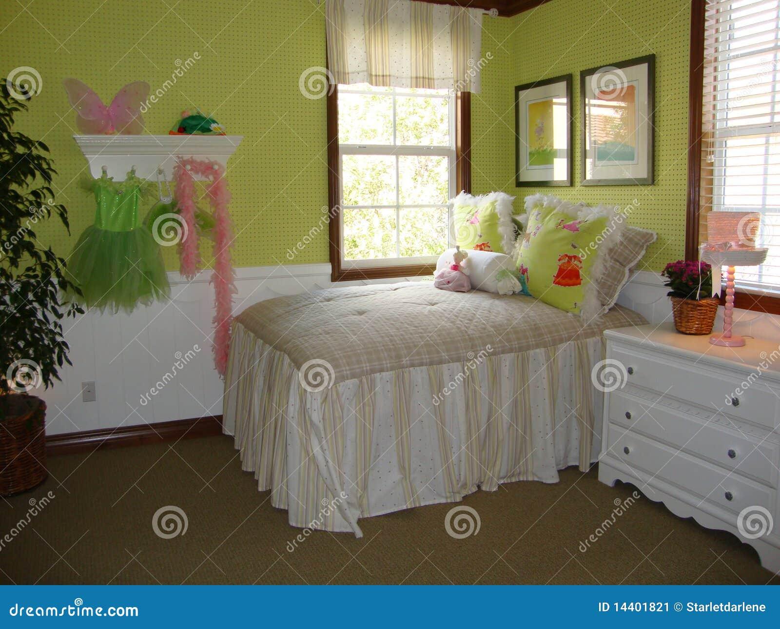 Belle chambre coucher de filles image stock image for Belle chambre coucher
