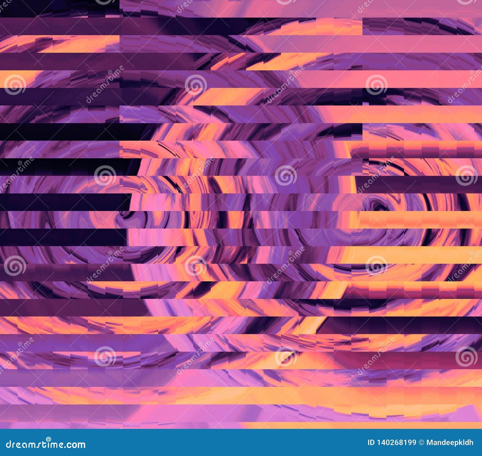 Belle conception de papier peint Texture et fond colorés Conception graphique moderne de Digital Illustration colorée riche multi