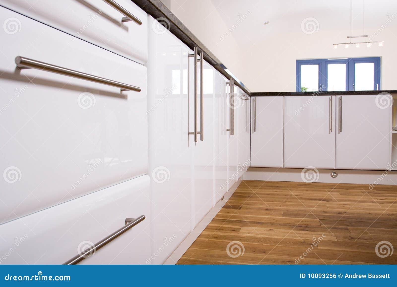 belle cuisine moderne image libre de droits image 10093256. Black Bedroom Furniture Sets. Home Design Ideas