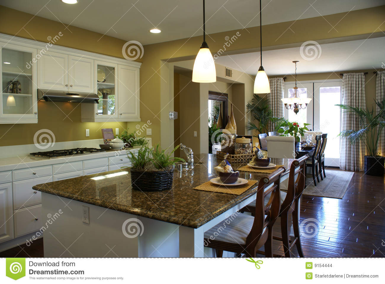 Belle cuisine moderne images stock image 9154444 for Belle cuisine moderne