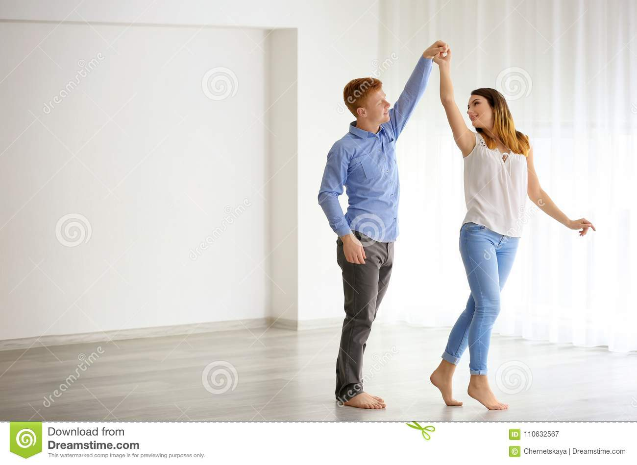 Belle danse de couples