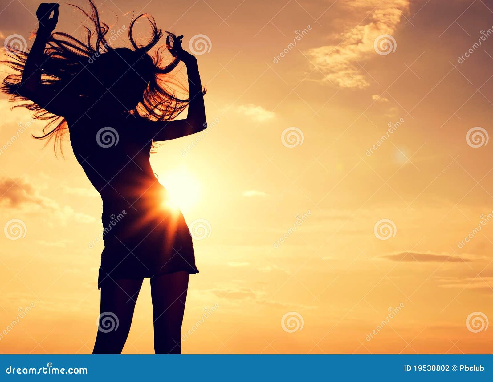 Belle danse sexy de femme