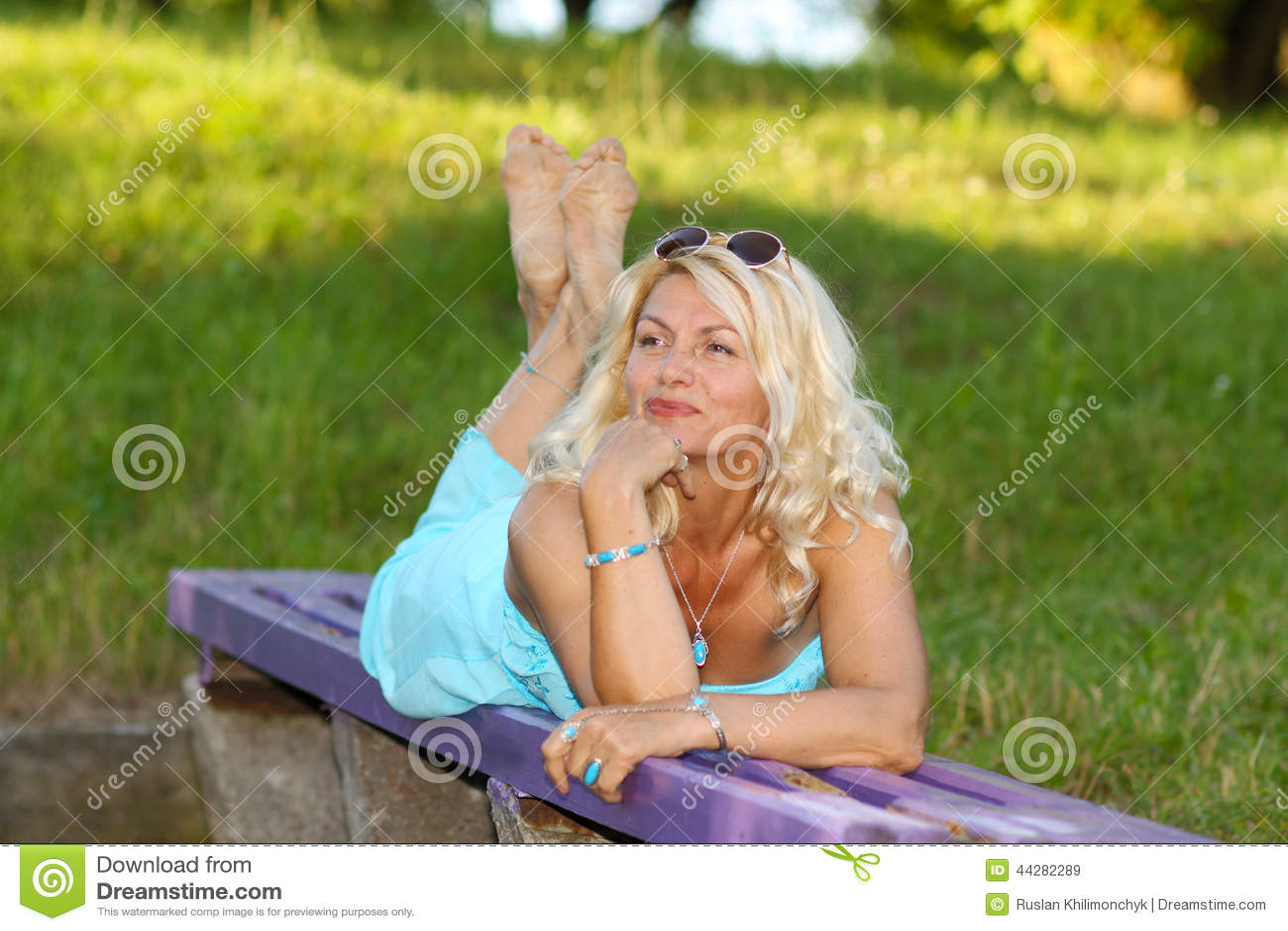 Femmes mures blondes