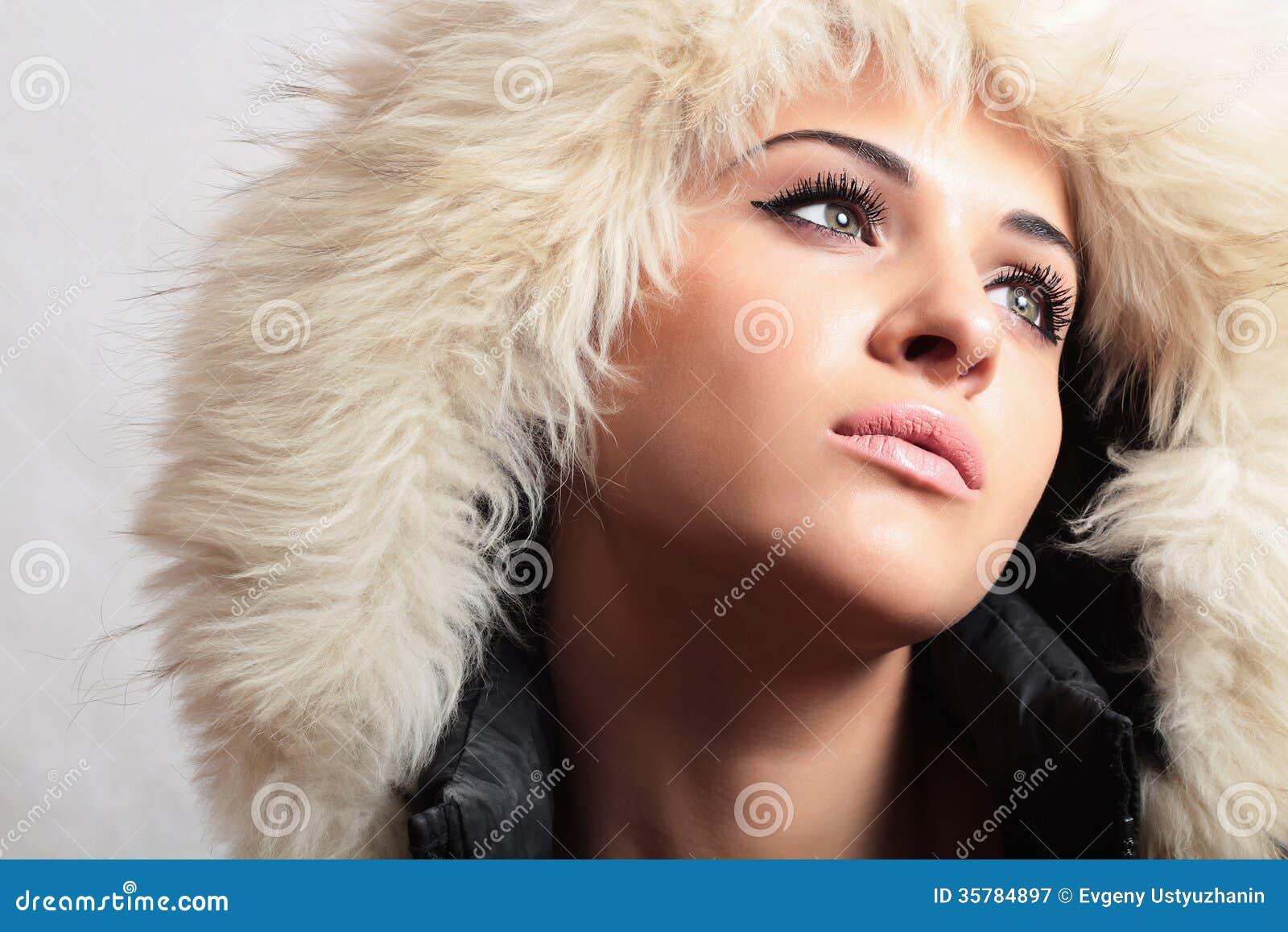 Belle Femme Dans La Fille De Image Stock Image Du Jacked