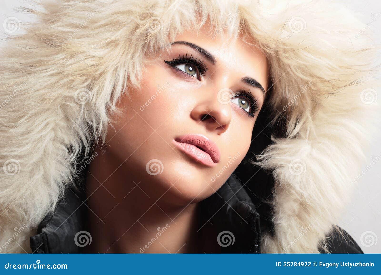 Belle Femme Dans La Fille De Photographie Stock Image