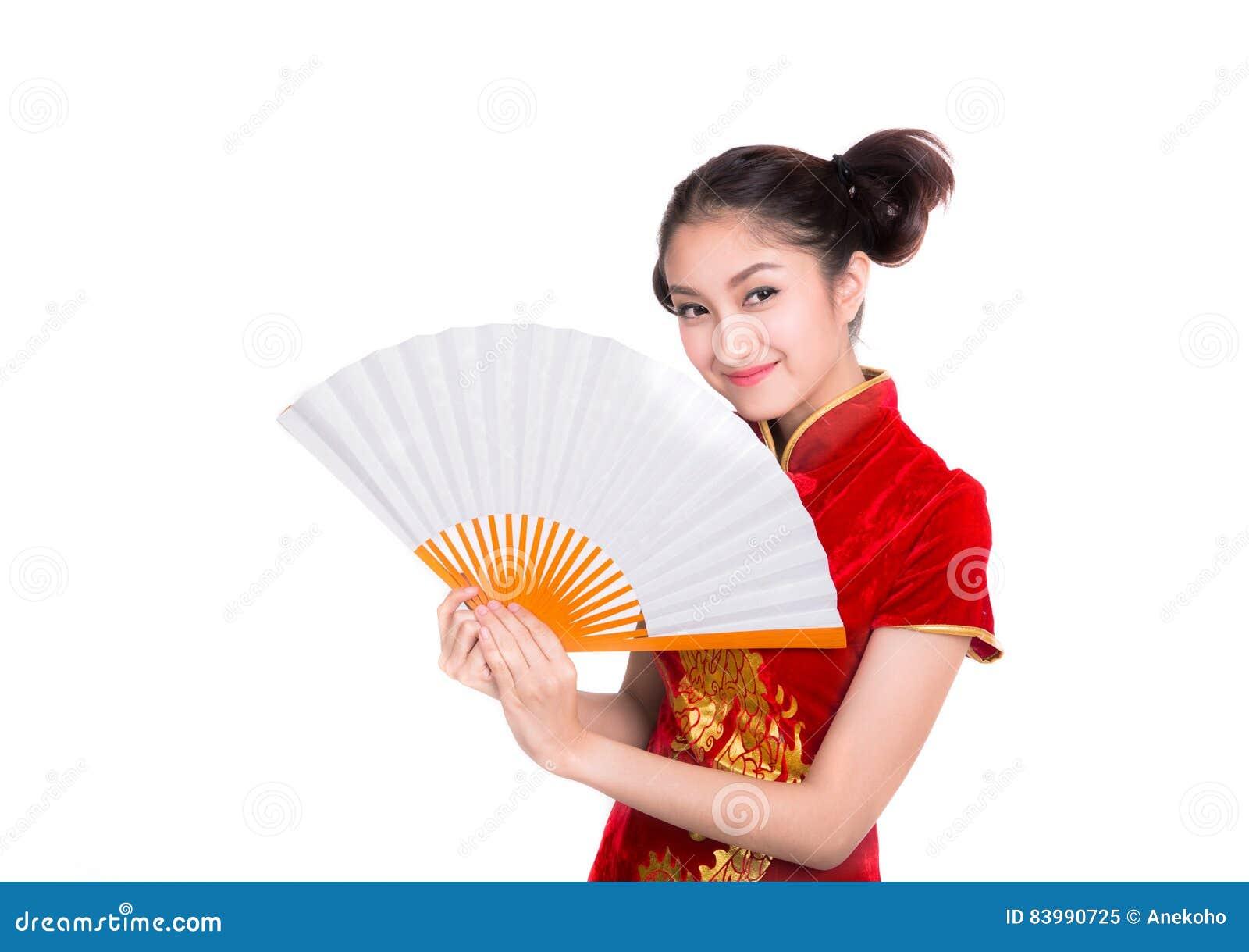 belle fille asiatique avec la robe traditionnelle chinoise cheongsam image stock image du fond. Black Bedroom Furniture Sets. Home Design Ideas