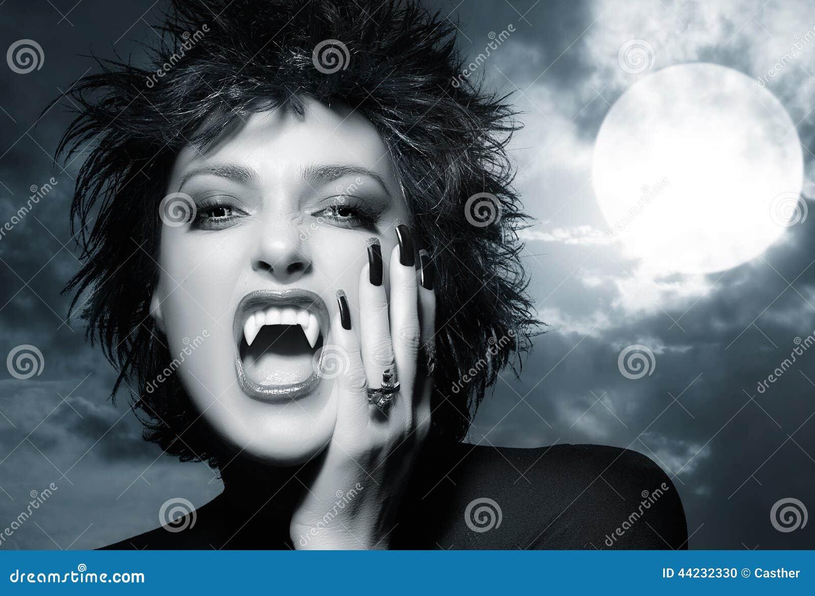 Belle Fille Gothique Loup Garou Femelle Photo Stock Image Du
