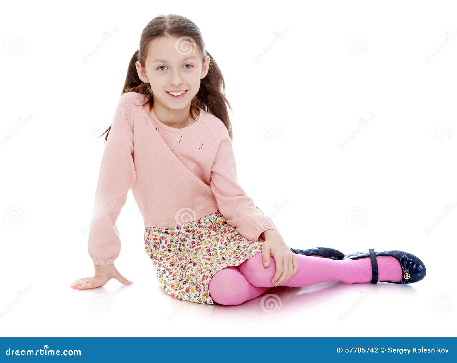 Petite fille maigre - bois maigre tisane