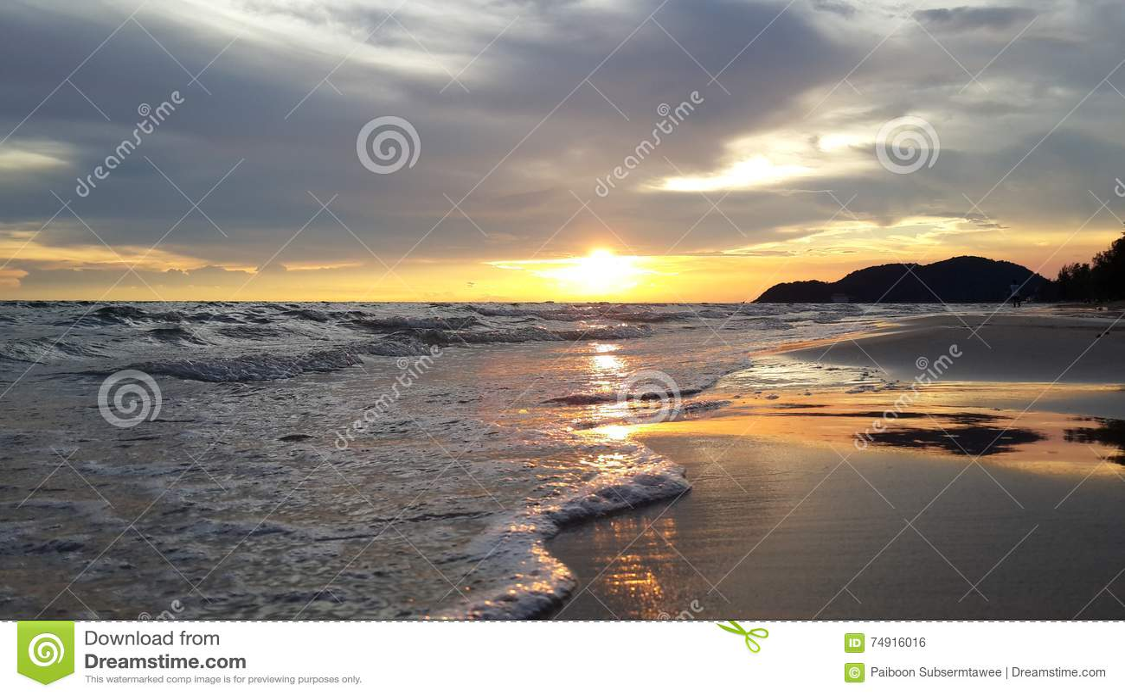 Belle immagini alla spiaggia