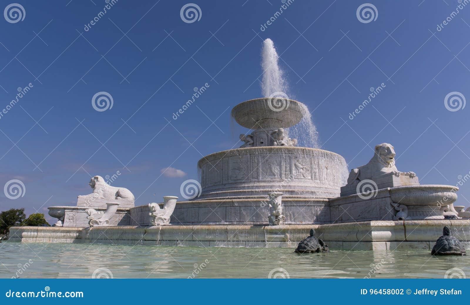 Belle Isle Fountain