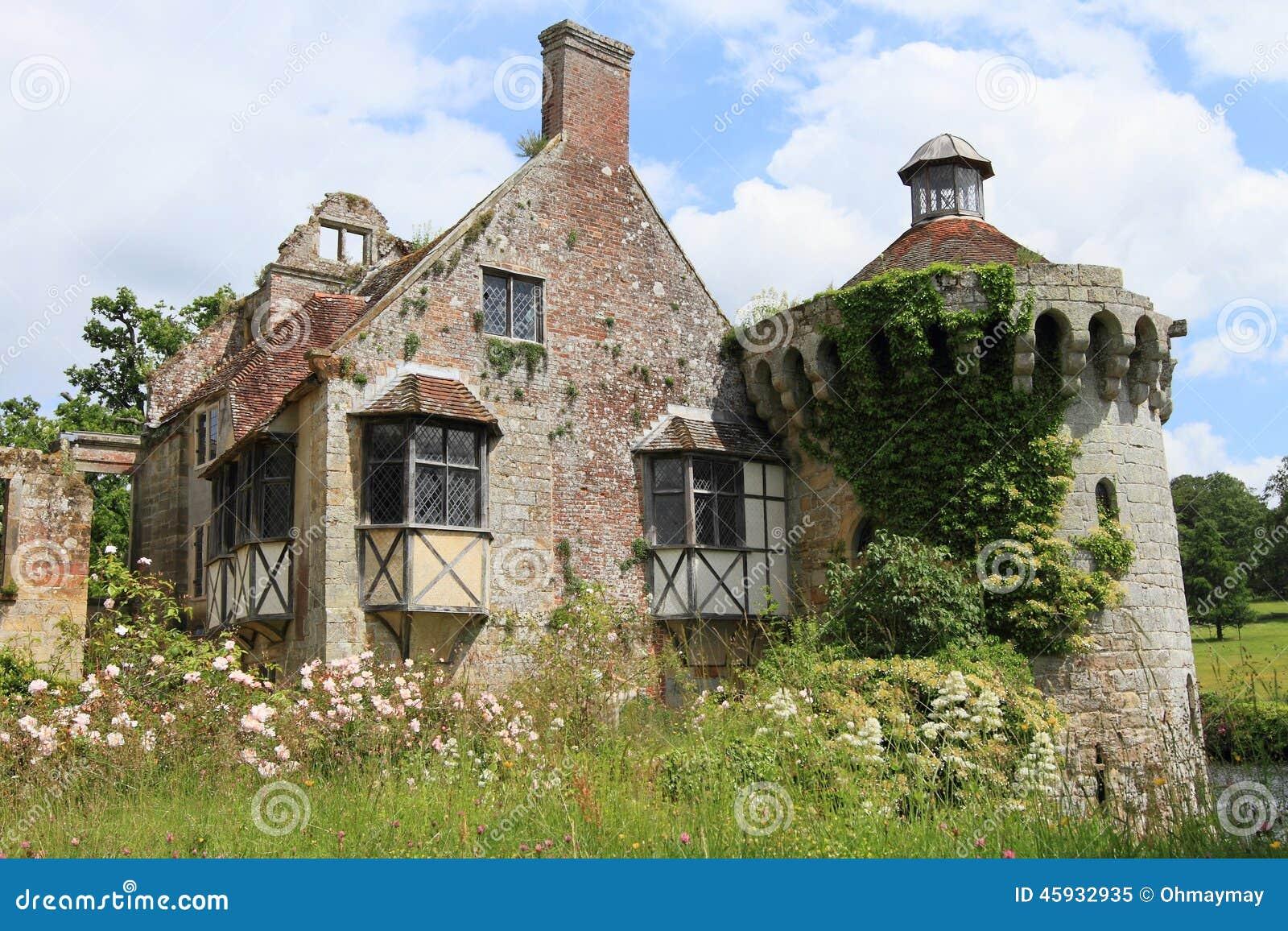 Belle maison de campagne anglaise dans kent photo stock - Maison de campagne anglaise ...