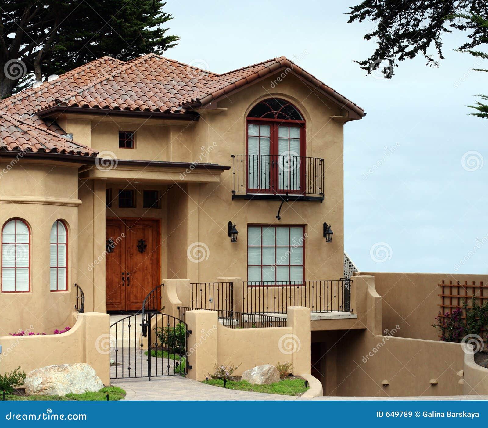 Belle maison de la californie images libres de droits   image: 649789