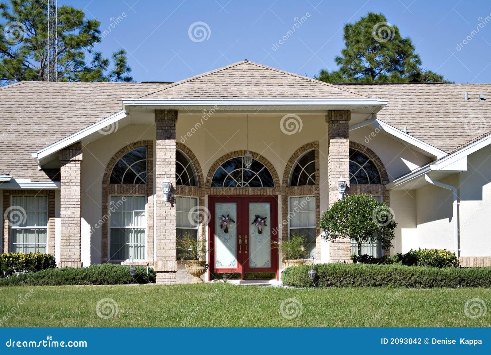 Belle maison de la floride photographie stock image 2093042 - Mooi huis ...