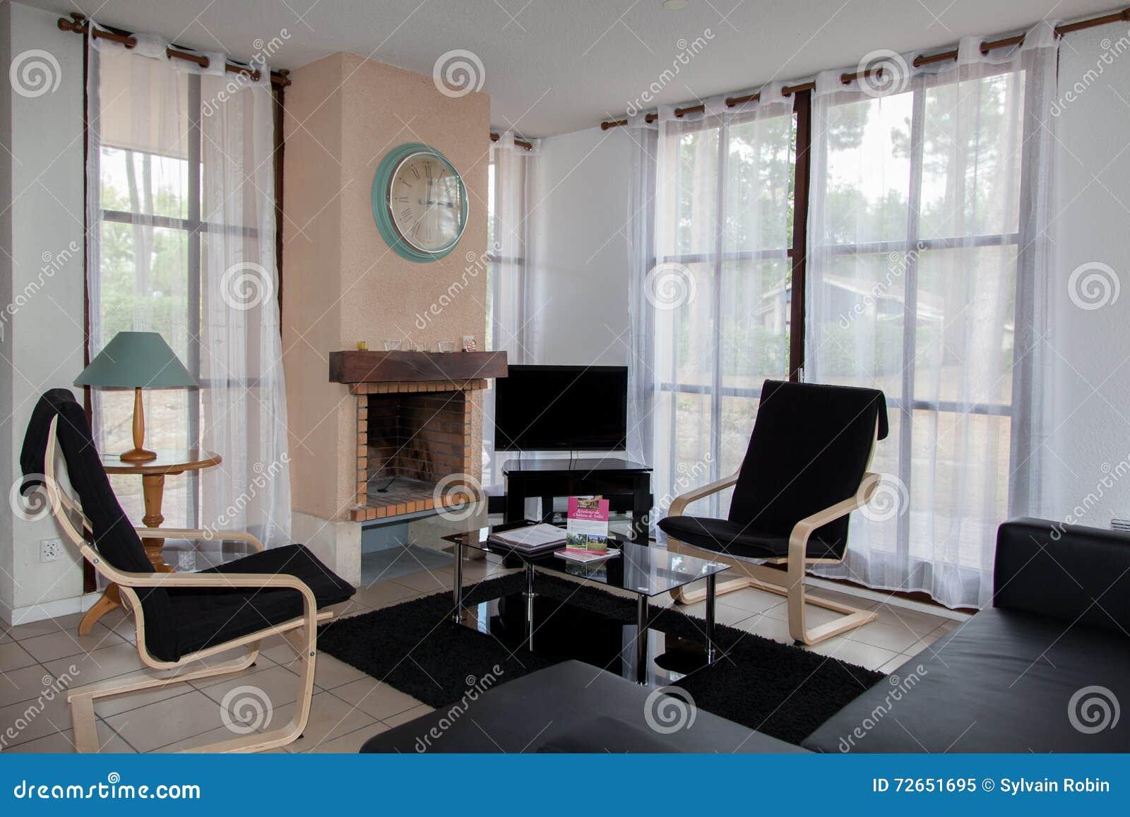 Belle Maison, Intérieur, Vue Du Salon Image stock - Image du ...