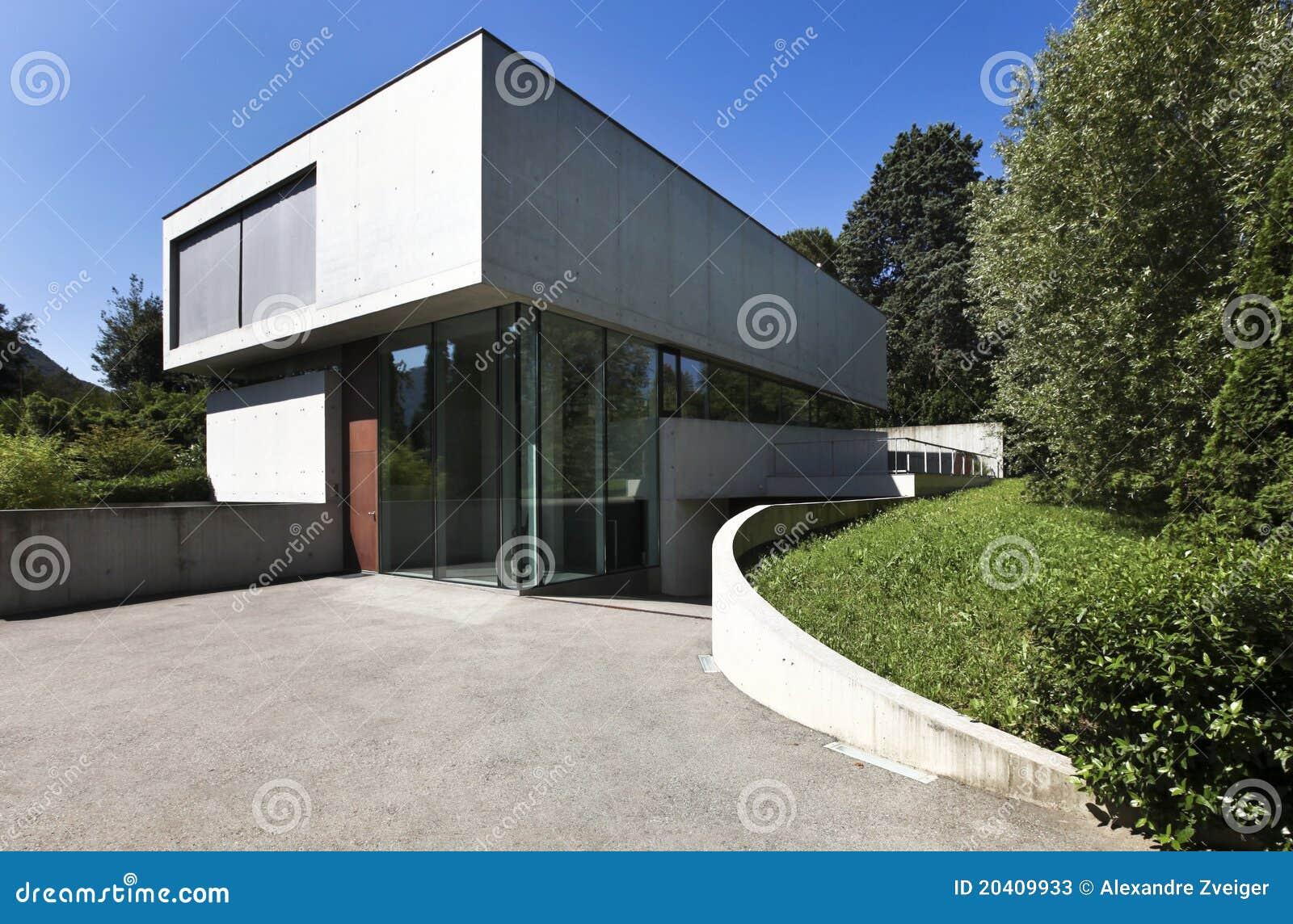 Belle maison moderne l ext rieur for Exterieur maison moderne