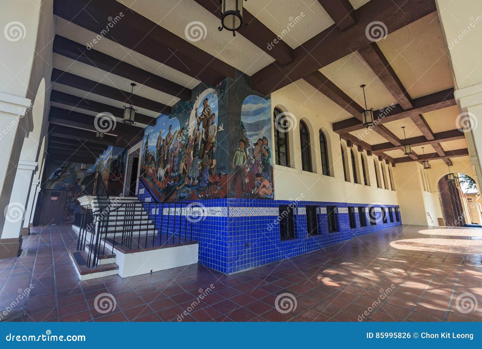Belle Peinture Murale Espagnole Photo éditorial Image Du Landmark