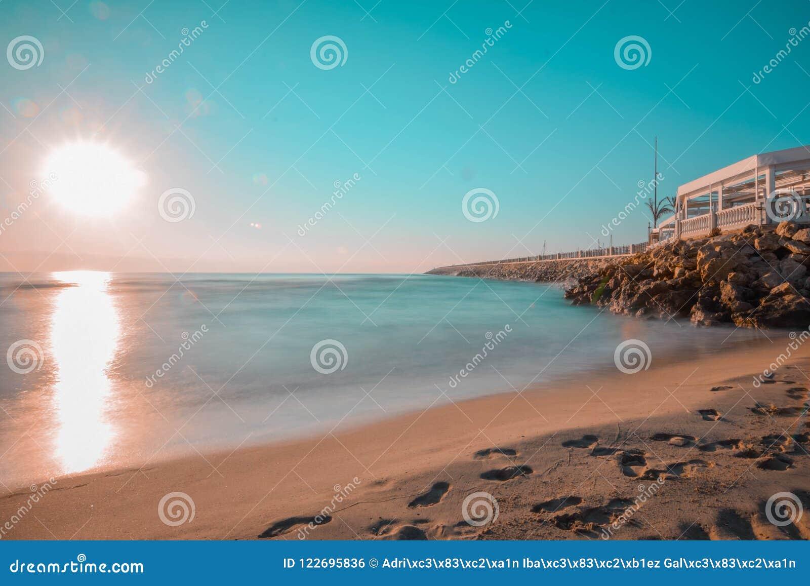 Belle plage espagnole
