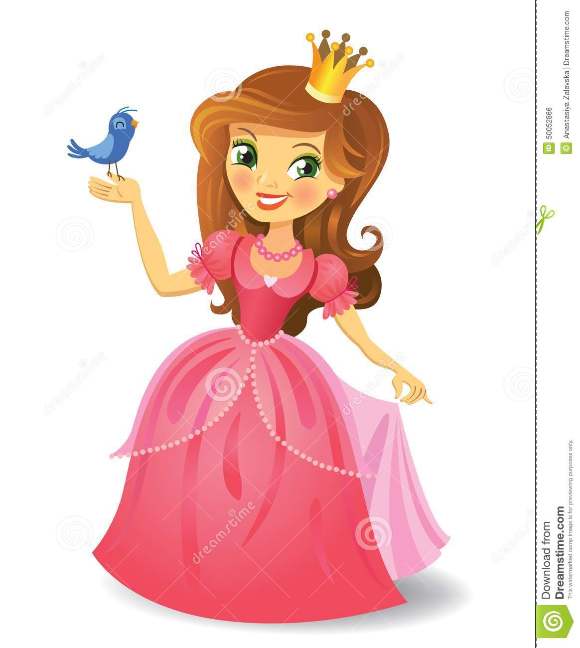 Belle Princesse Illustration De Vecteur Image 50052866