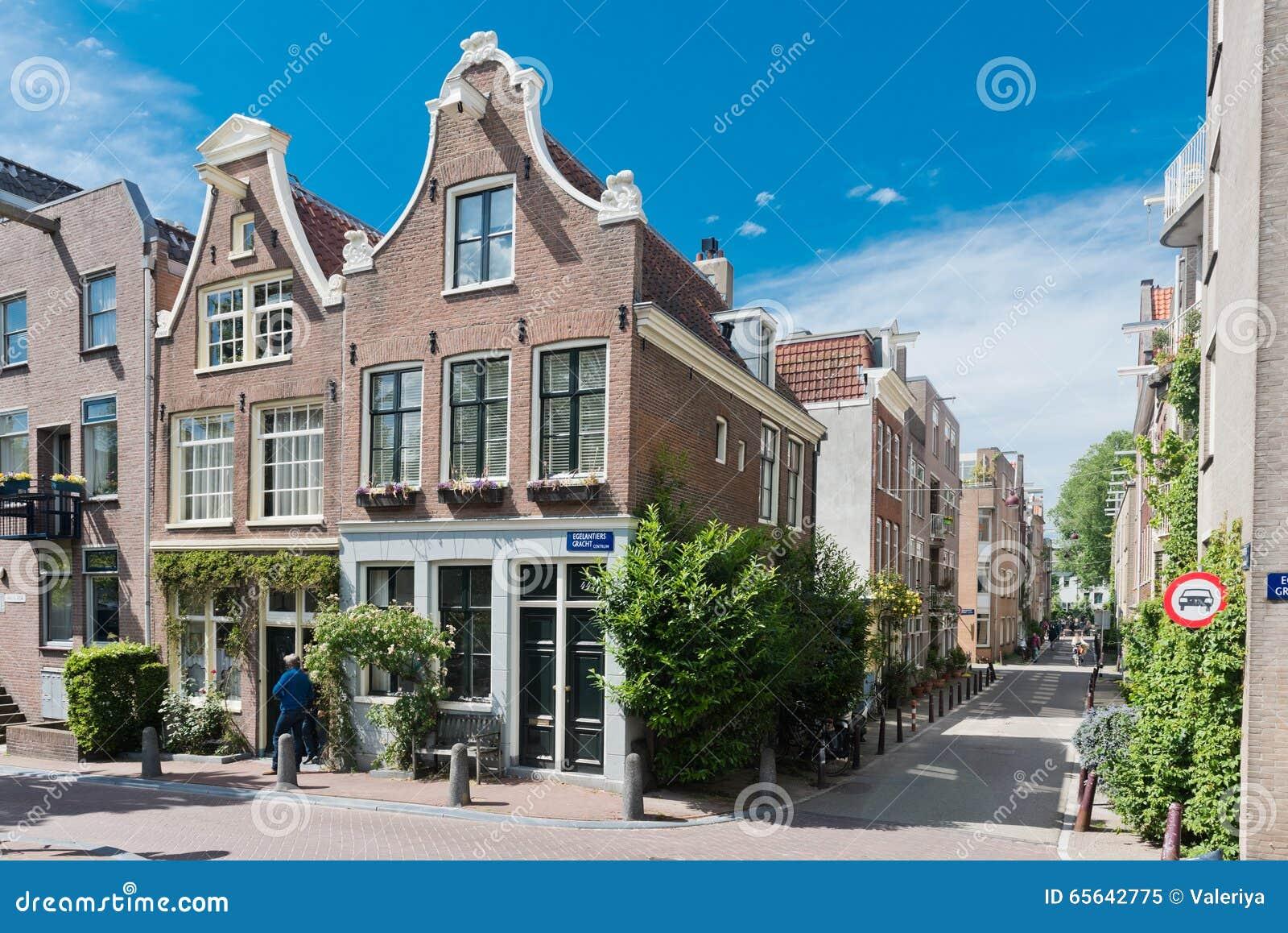 Belle rue à Amsterdam
