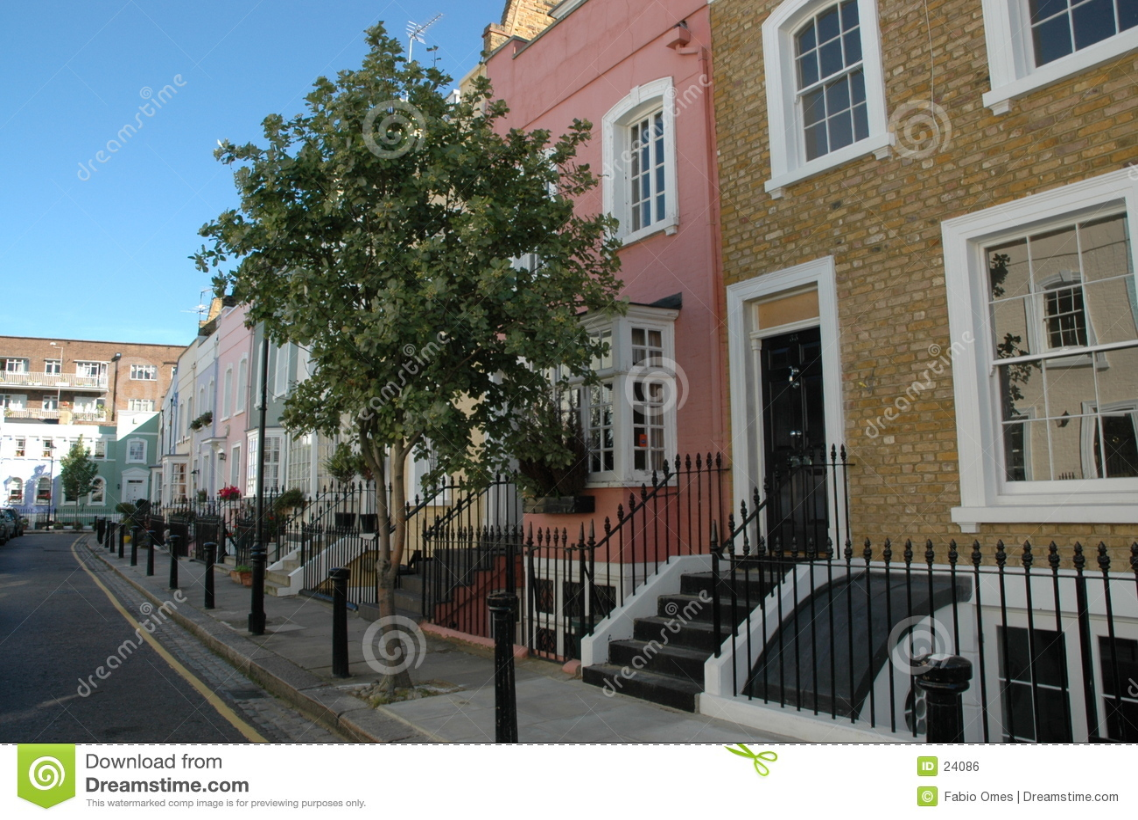 Belle rue à Londres.
