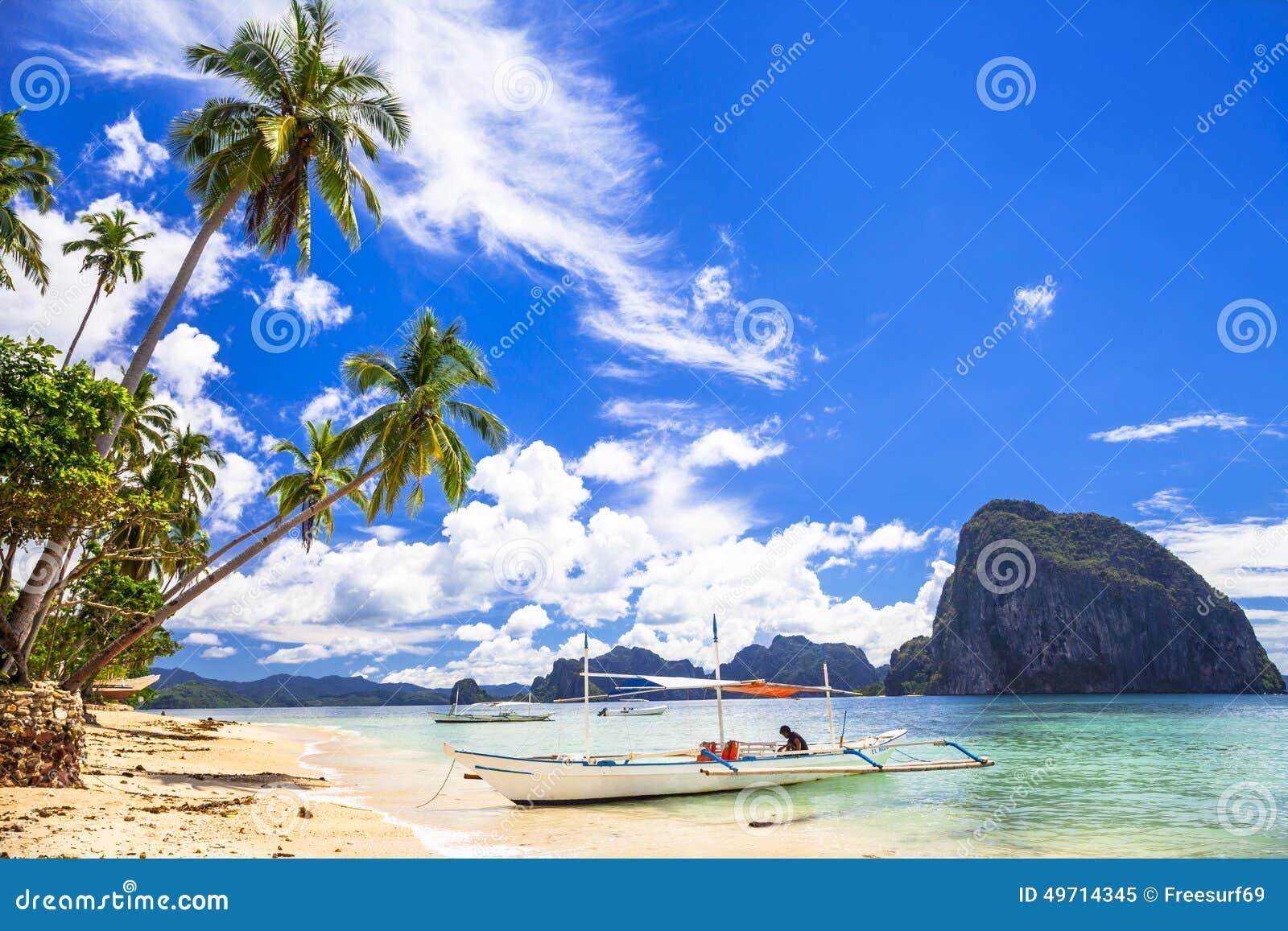 Belles îles de Philippines