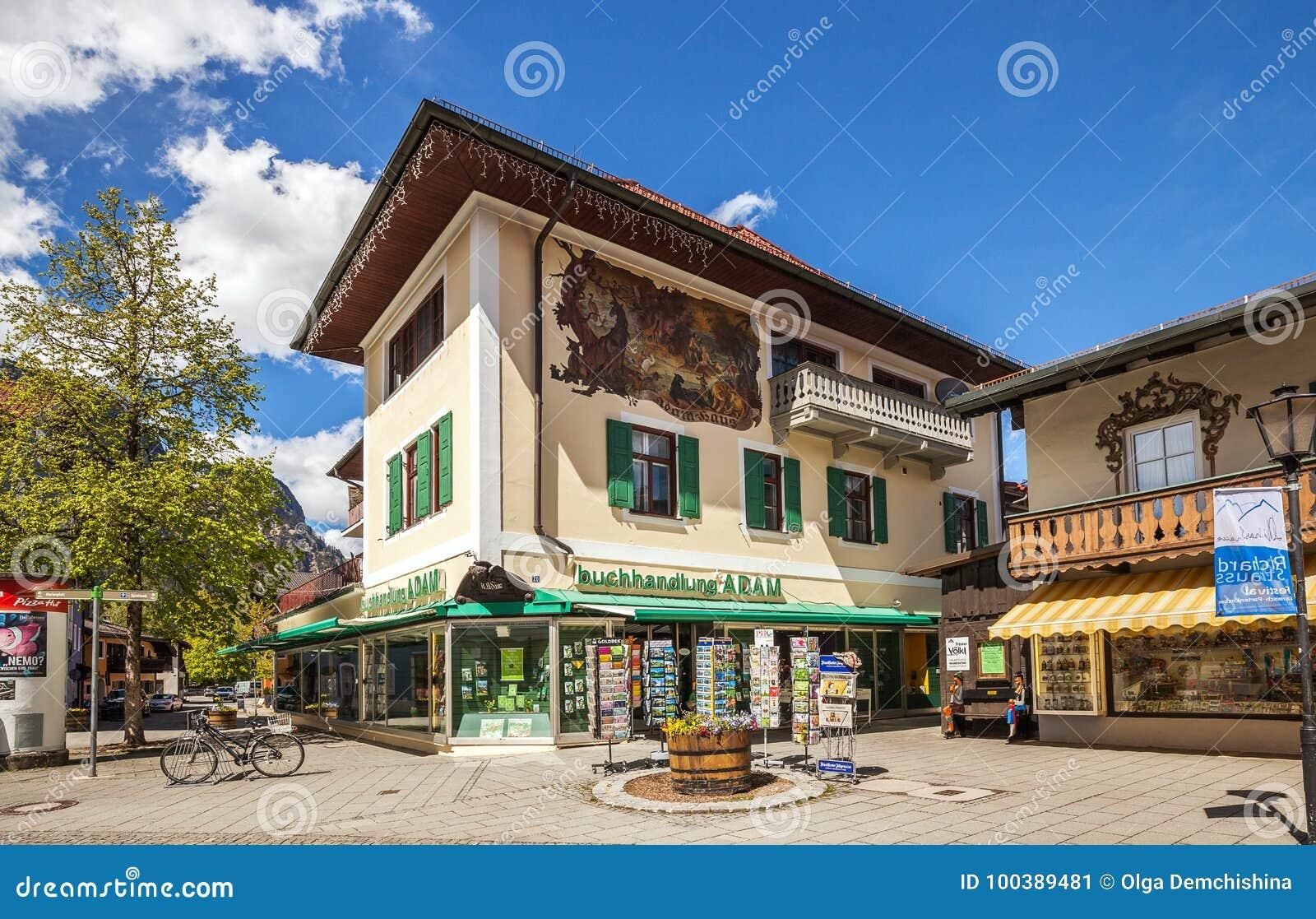 Couleur Extérieur Maison 2017 belles maisons à garmisch-partenkirchen en allemagne photo