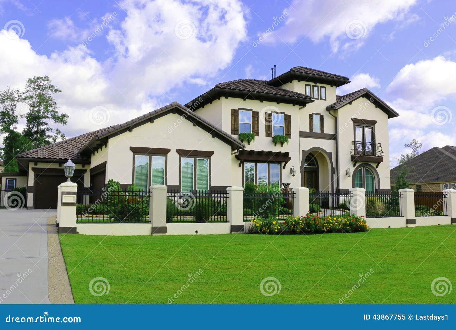 download belles maisons du sud image stock image du patrimoine 43867755