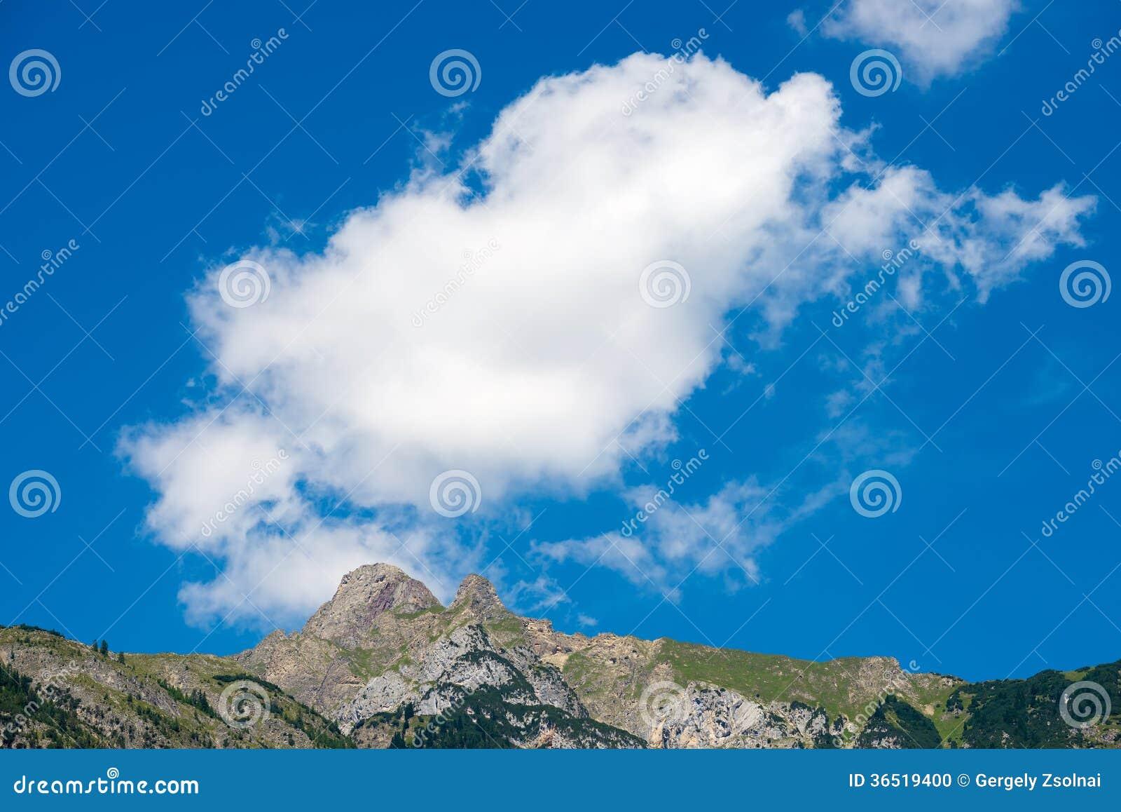 Belles montagnes en Autriche