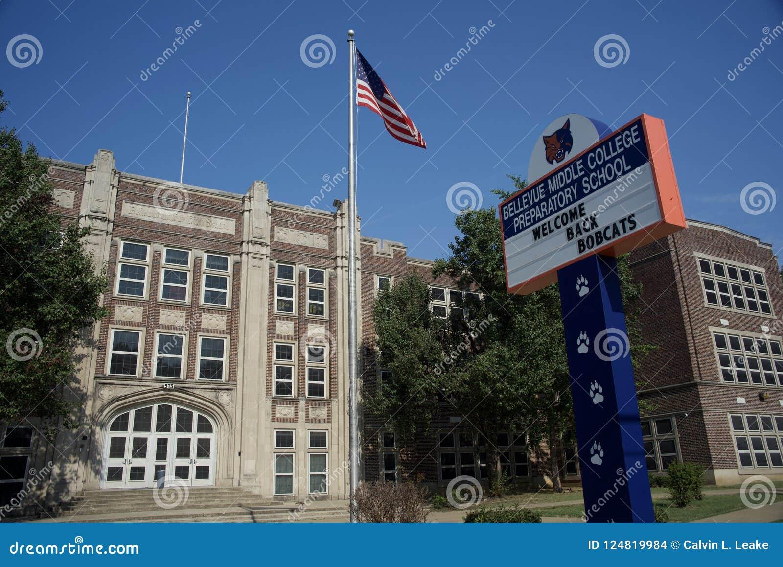 Bellevue中间学院Prepatory学校,孟菲斯,田纳西