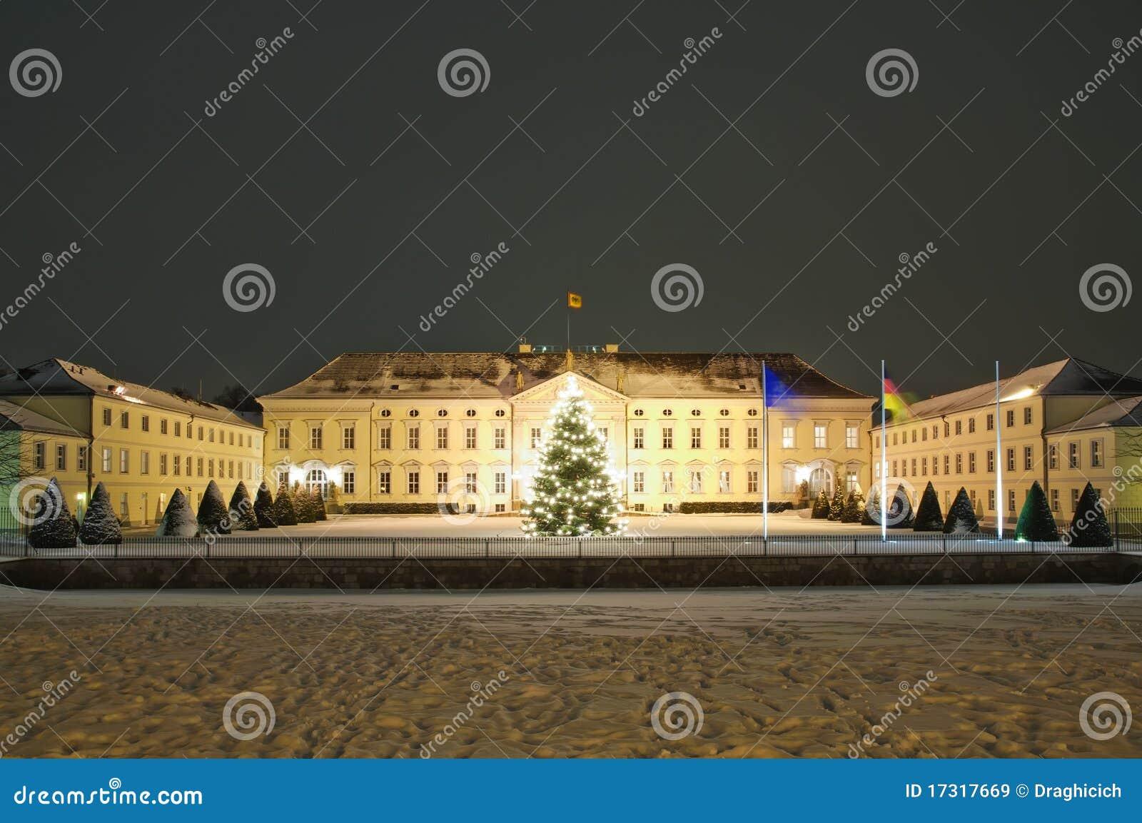 Bellevue de Schloss em Berlim