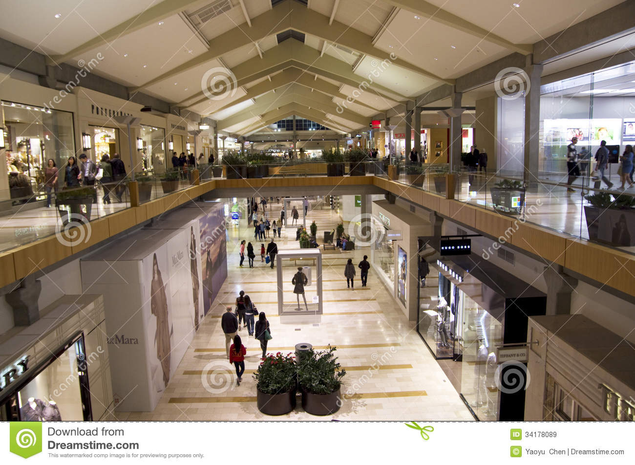 Bellevue Square Mall >> Bellevue Square Shopping Mall Editorial Stock Image Image Of