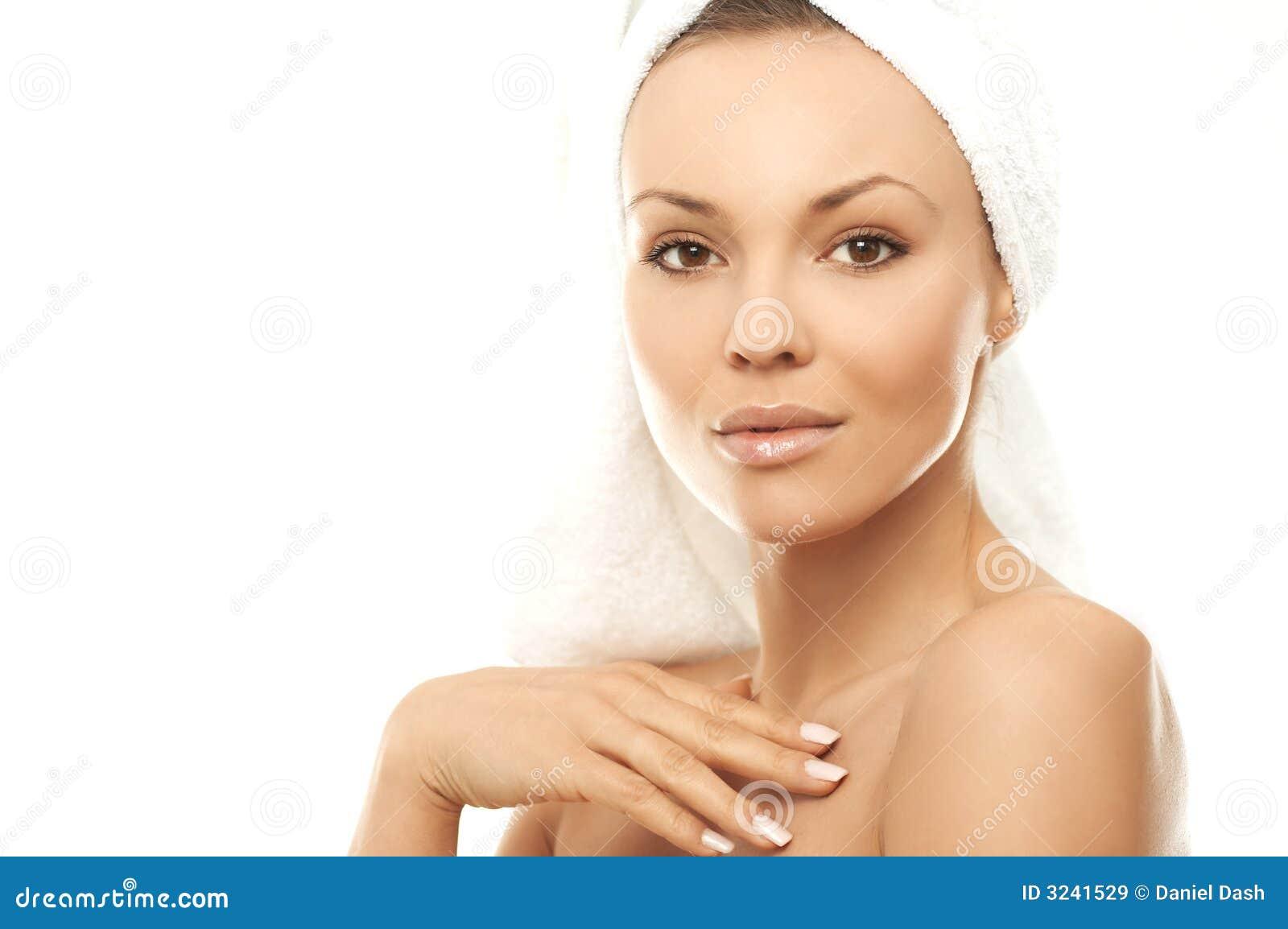 Belleza después del baño