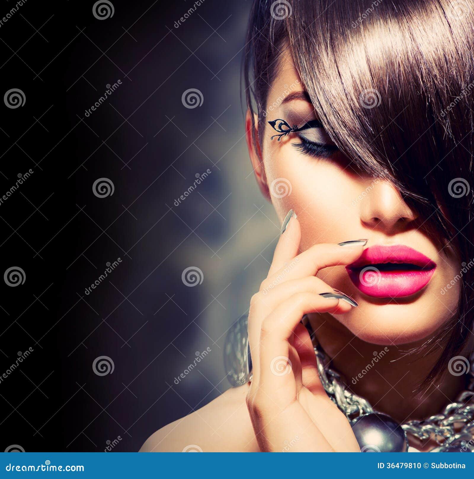 Belleza Girl modelo atractivo