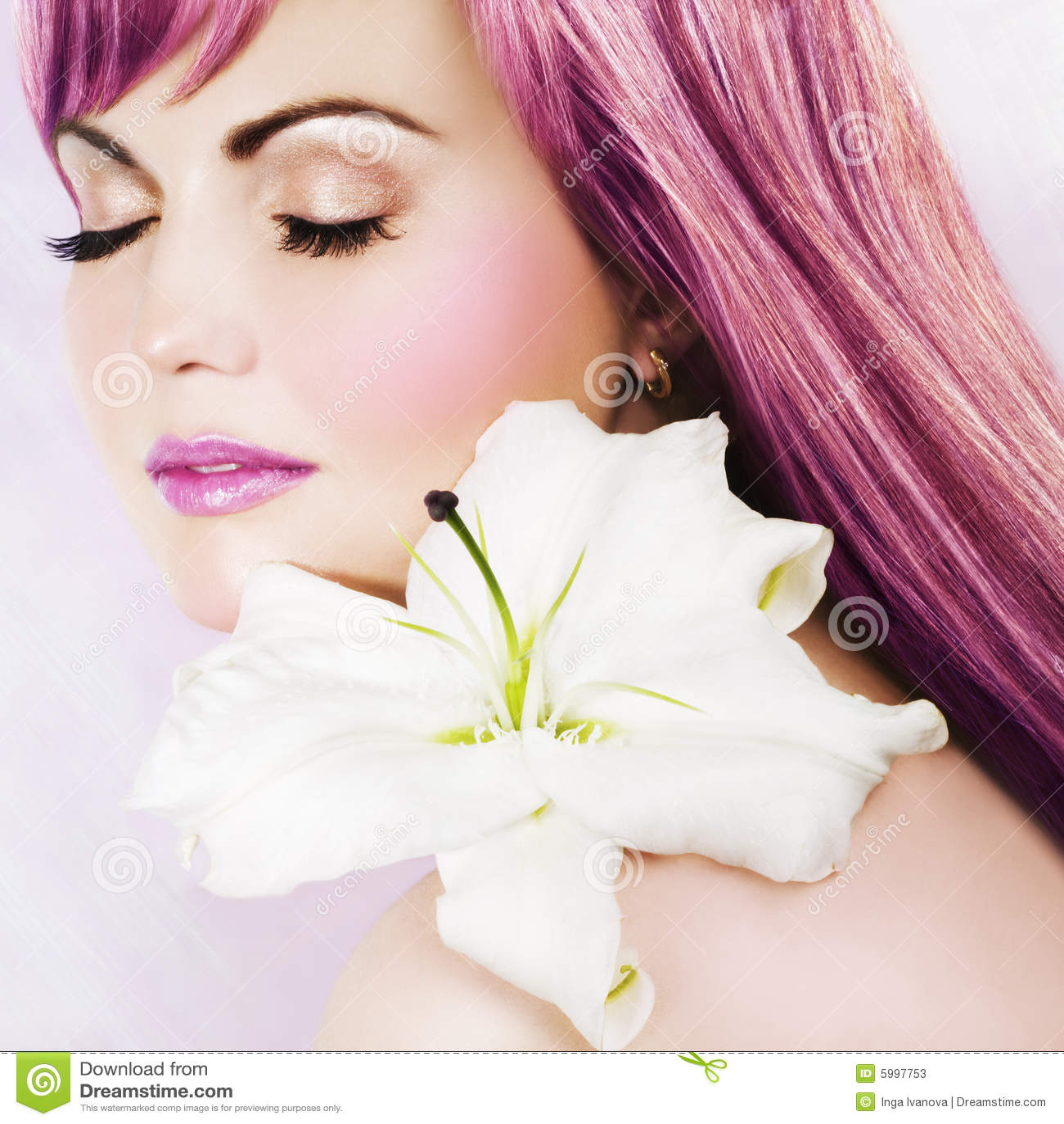 Belleza rosada