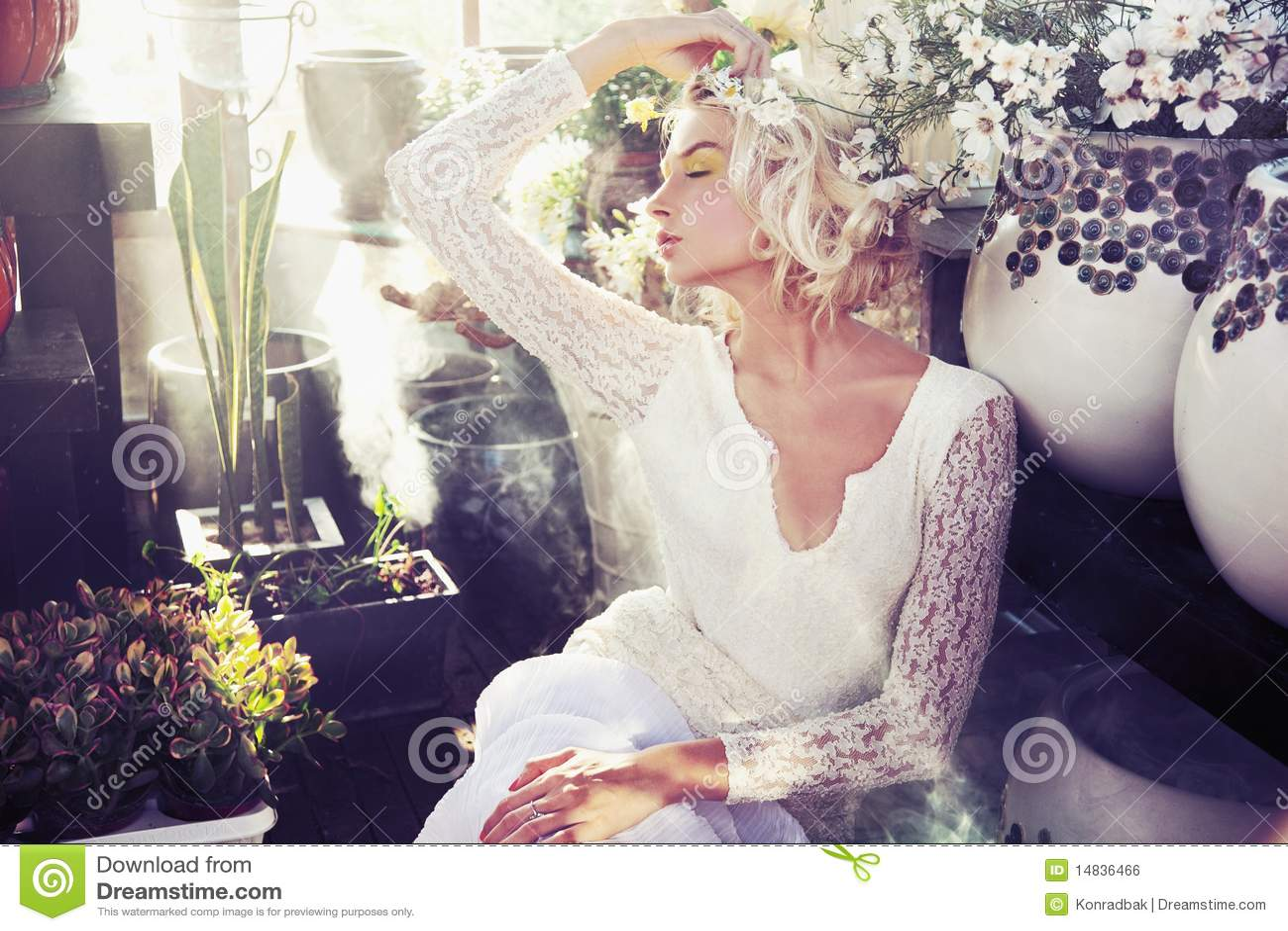 Bellezza bionda splendida