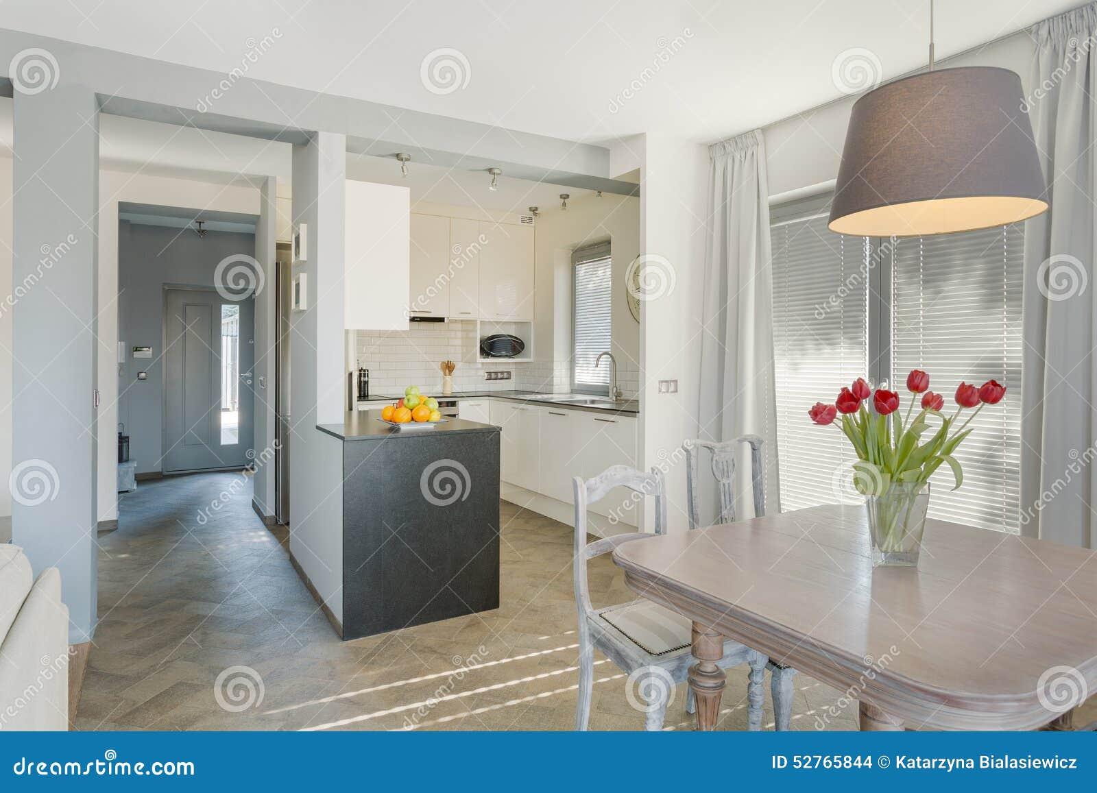 Bellezza e cucina accogliente fotografia stock immagine di