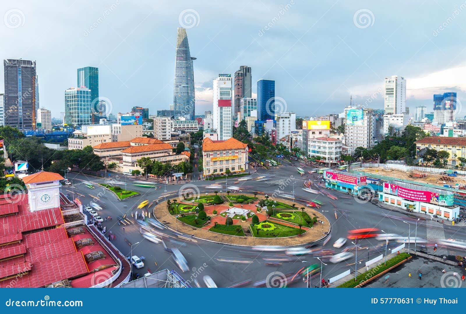 Bellezza pm di Saigon dentro in città