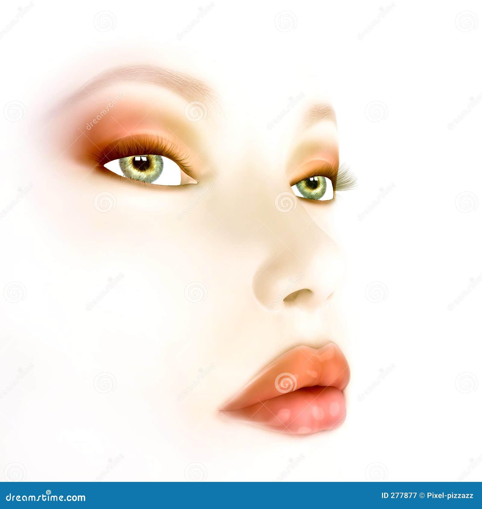 Bellezza spazzolata aria