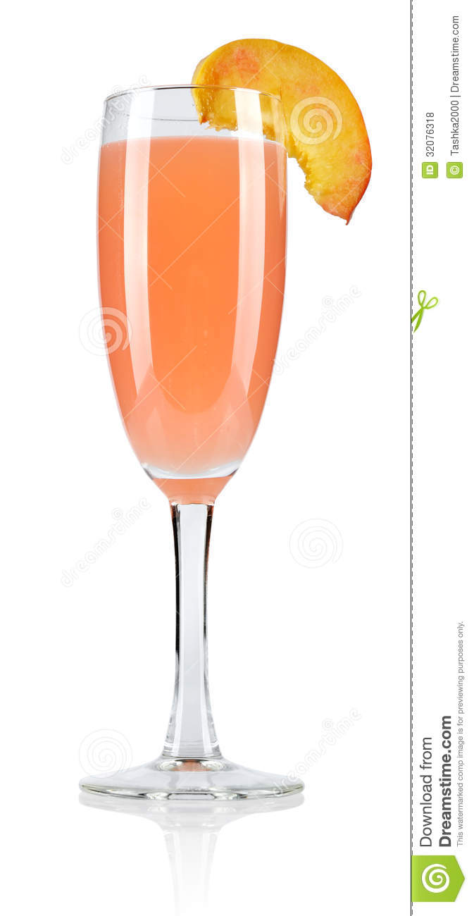 Bellini cocktail stock photo image of leisure isolated for Bellini cocktail