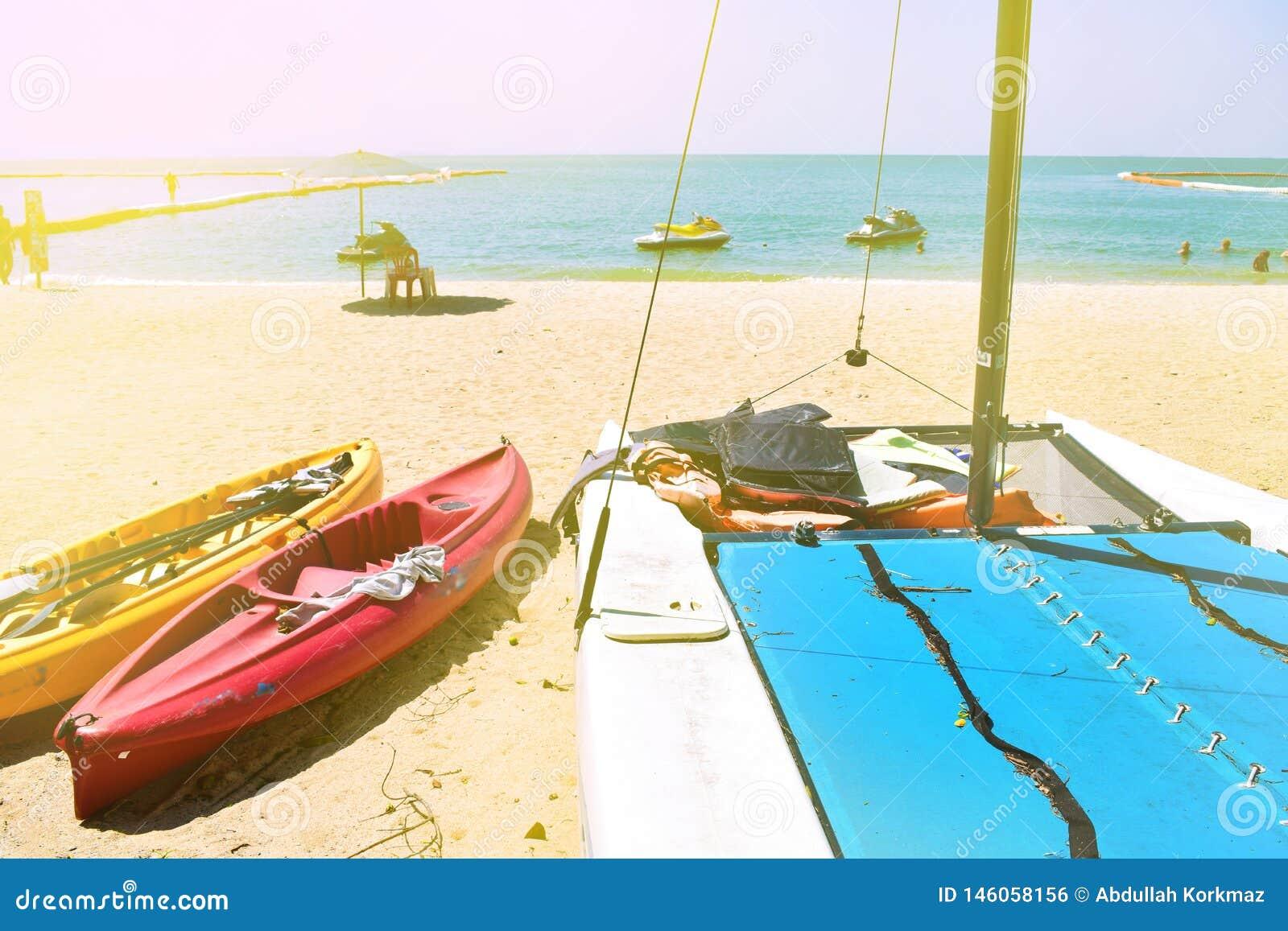 Bello concetto selettivo della spiaggia
