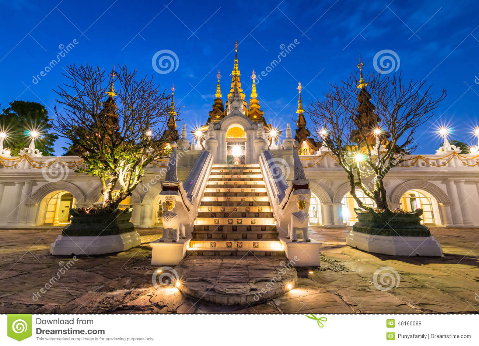 Bello hotel di Chiang Mai Thailand