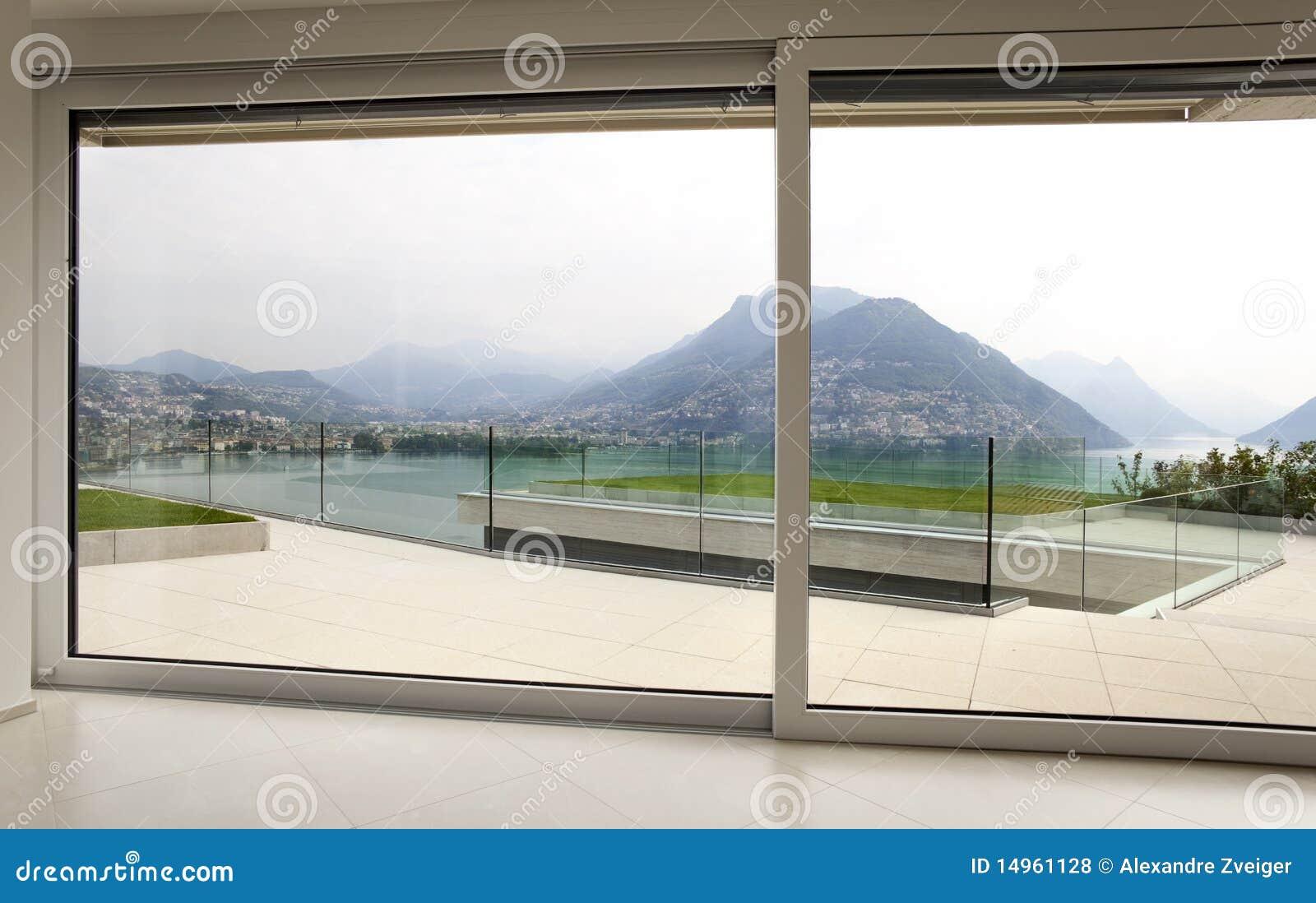 Bello interiore di una casa moderna