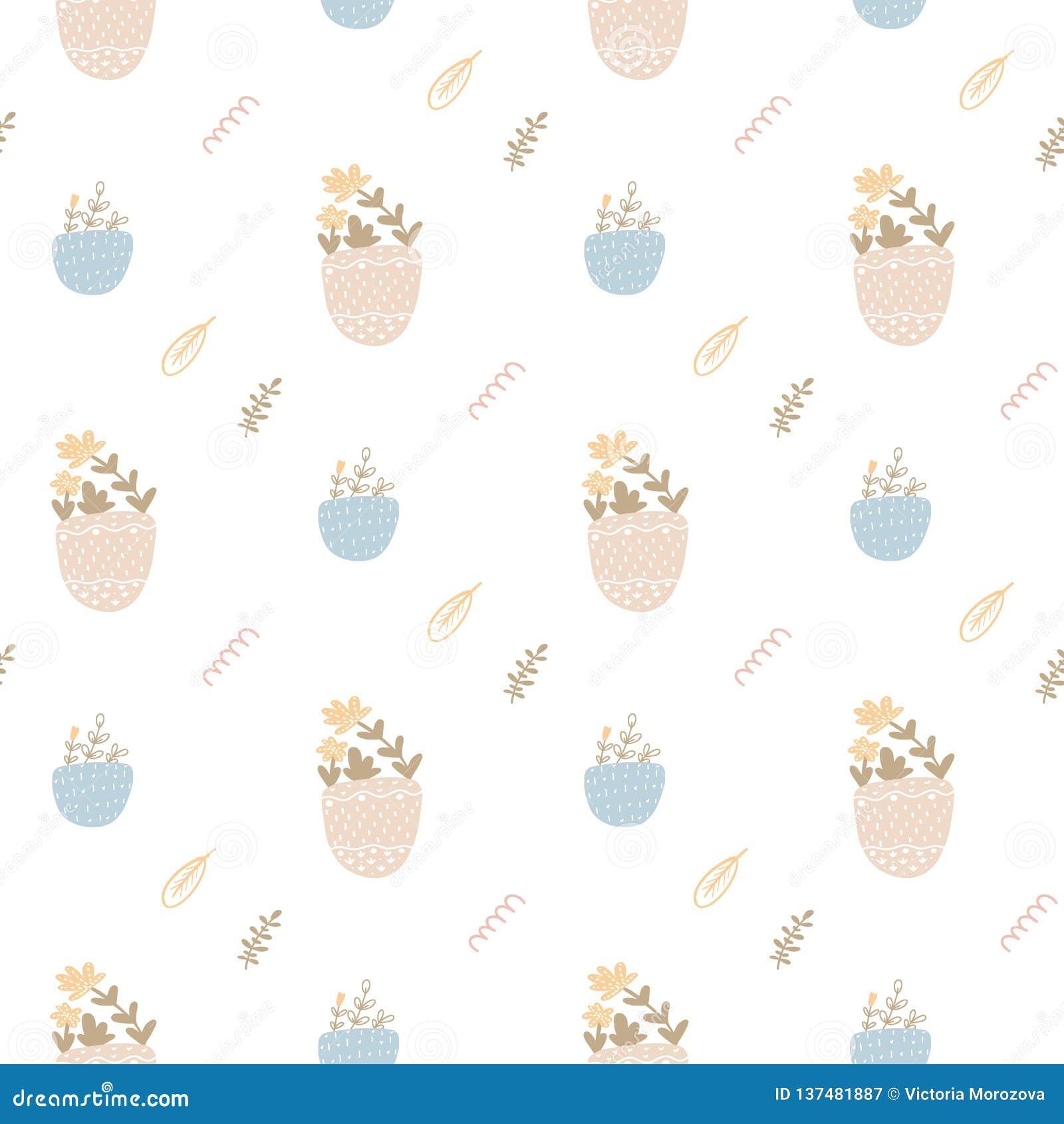 Bello modello senza cuciture con i fiori della molla L illustrazione luminosa, può essere usata per carta da imballaggio, carta d