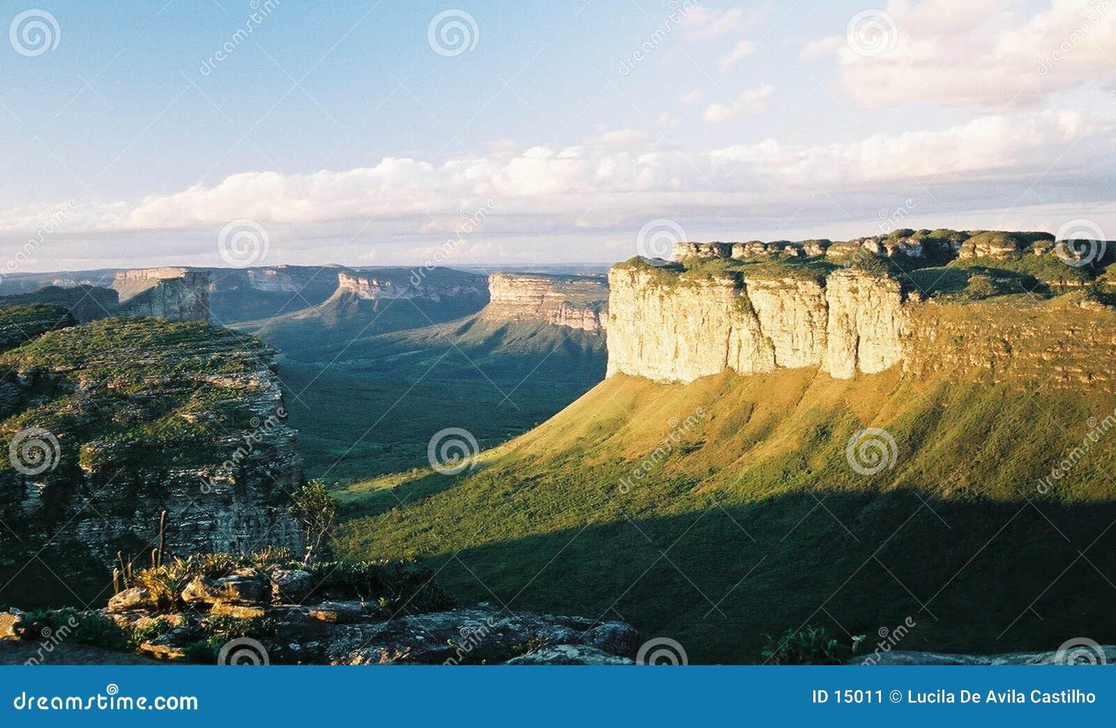 Bello paesaggio brasiliano