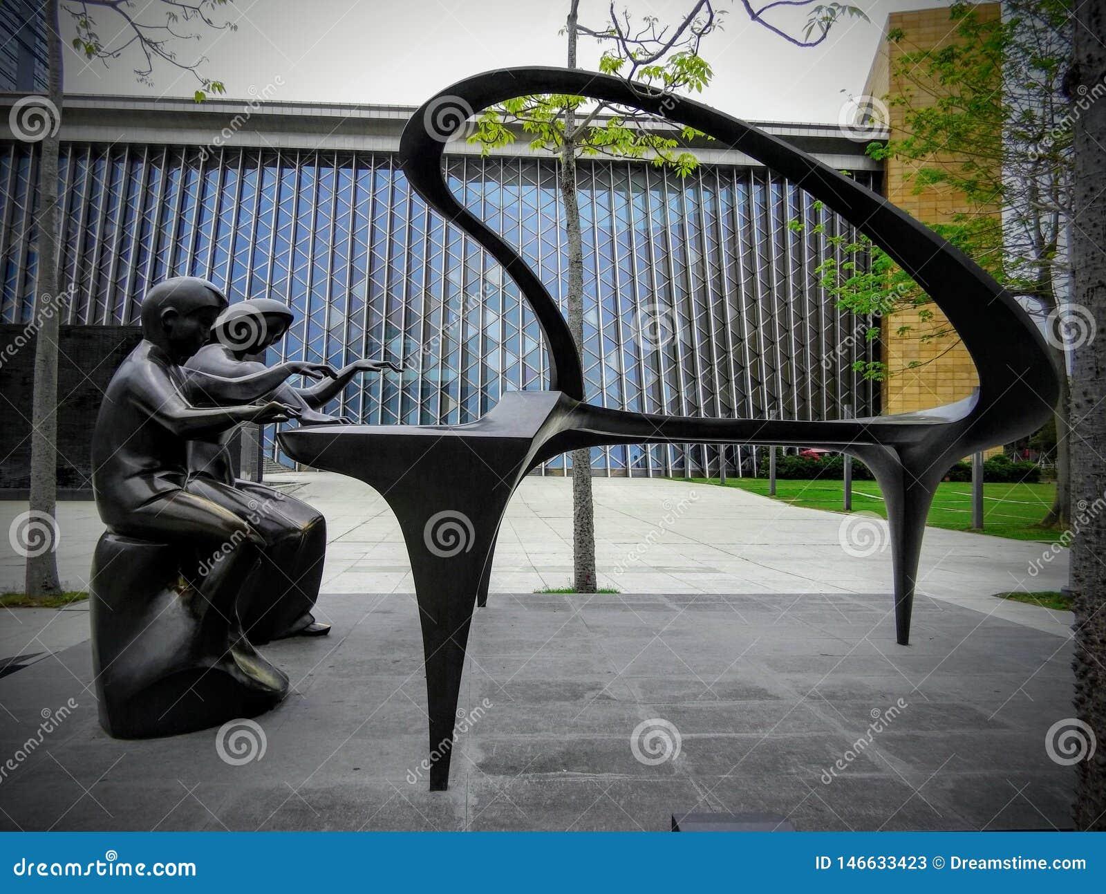 Bello sculptureof astratto Shenzhen